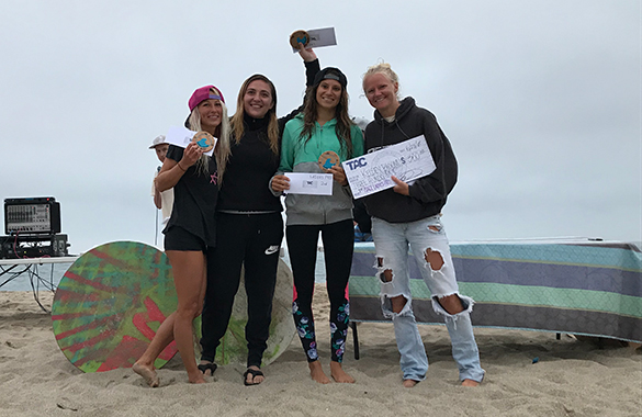 The Sixth Annual TAC Skimblast - Ladies Pro Winners