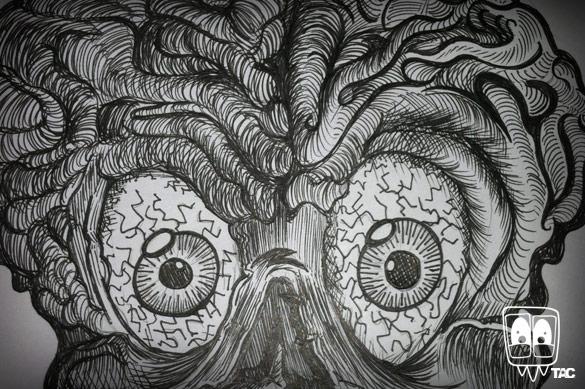 TAC - Skull Sketch