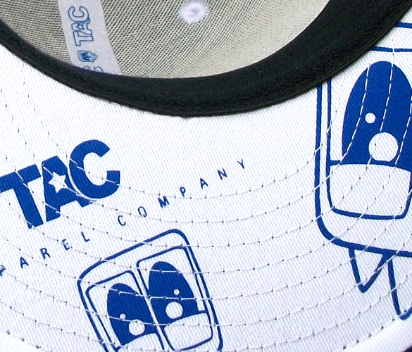TAC Apparel Company - Blue Hefner fitted cap
