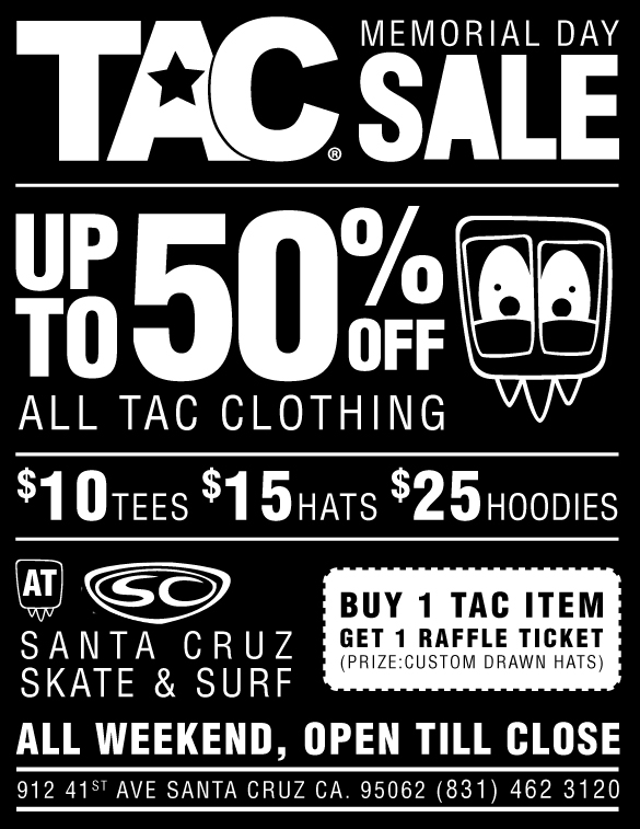 TAC Apparel Company Memorial Day Sale!