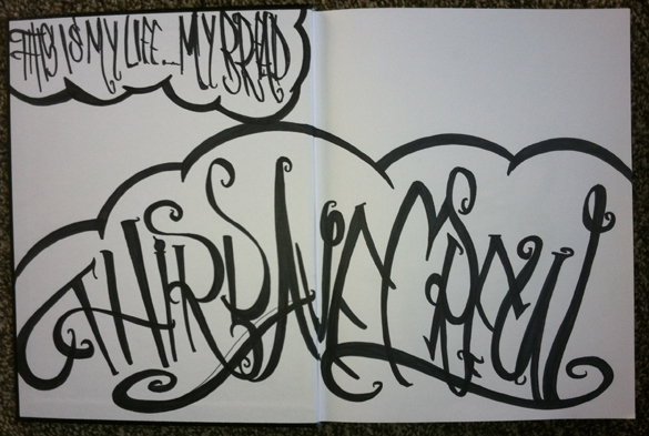 TAC Apparel Company Third Ave Crew Sketch