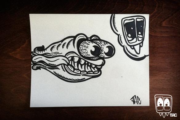 TAC - Gremlin Ghost by Ben Koscielniak