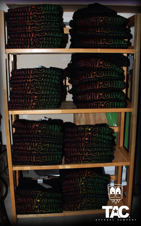TAC Apparel Company Rasta Cruz Tshirts