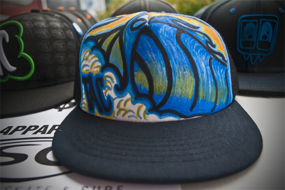 YOU could win this custom drawn TAC Apparel Hat!
